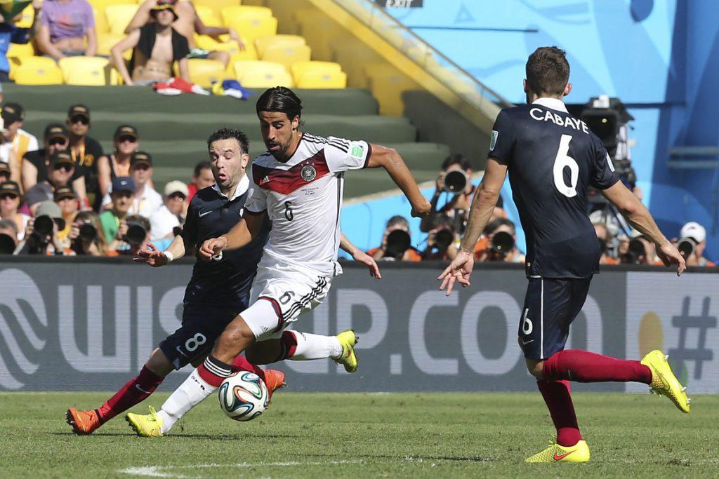 Fast seit dem Beginn seiner Nationalmannschaftskarriere hat Sami Khedira die Rückennummer 6. (Foto Shutterstock)